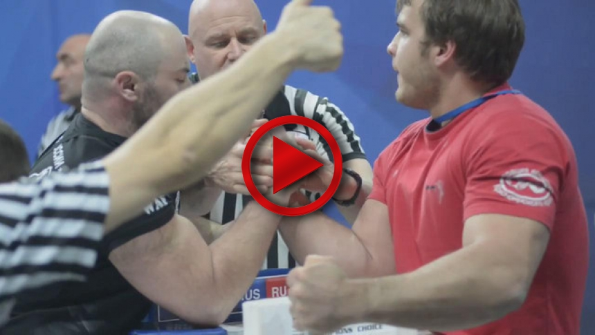 Russian Nationals 2014 right hand part 56 # Armbets.tv
