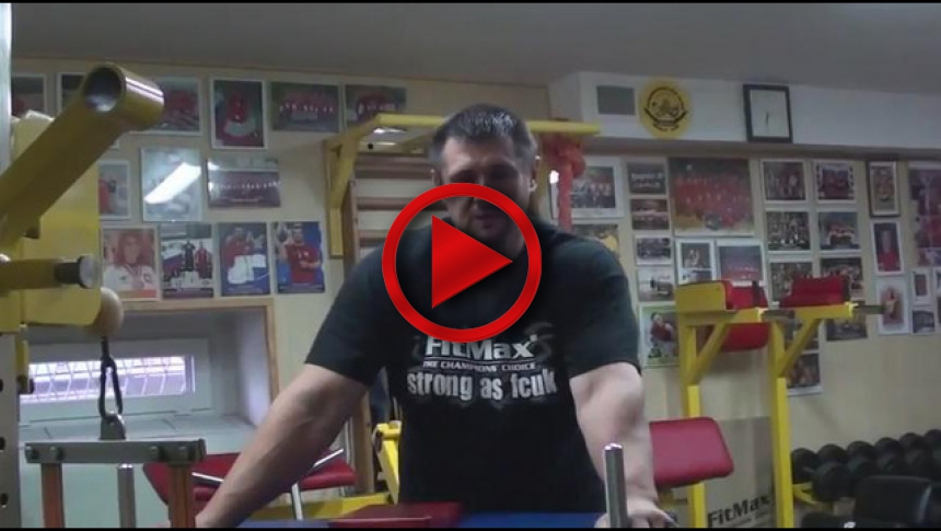 Training with Igor Mazurenko - part 26 Wrist # Armbets.tv