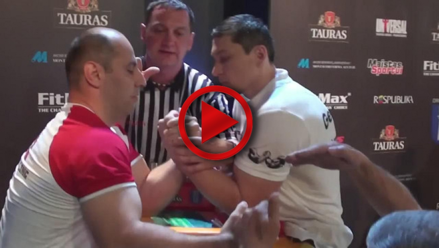 EuroArm 2013 Lithuania - day3 - part 40 # Armbets.tv # фкьиуеыюем