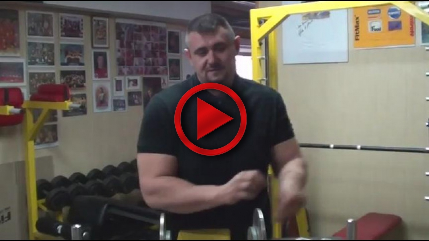Training with Igor Mazurenko - Biceps explanation # Armbets.tv # фкьиуеыюем