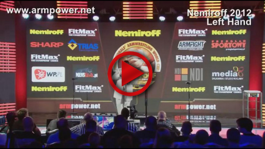 Nemiroff 2012 - Final Left hand Men 78kg # Armbets.tv # фкьиуеыюем
