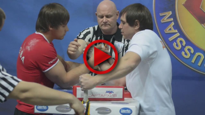 Russian Nationals 2014 right hand part 8 # Armbets.tv # фкьиуеыюем