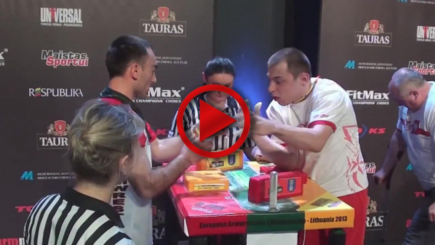 EuroArm 2013 Lithuania - day4 - part 67 # Armbets.tv # фкьиуеыюем