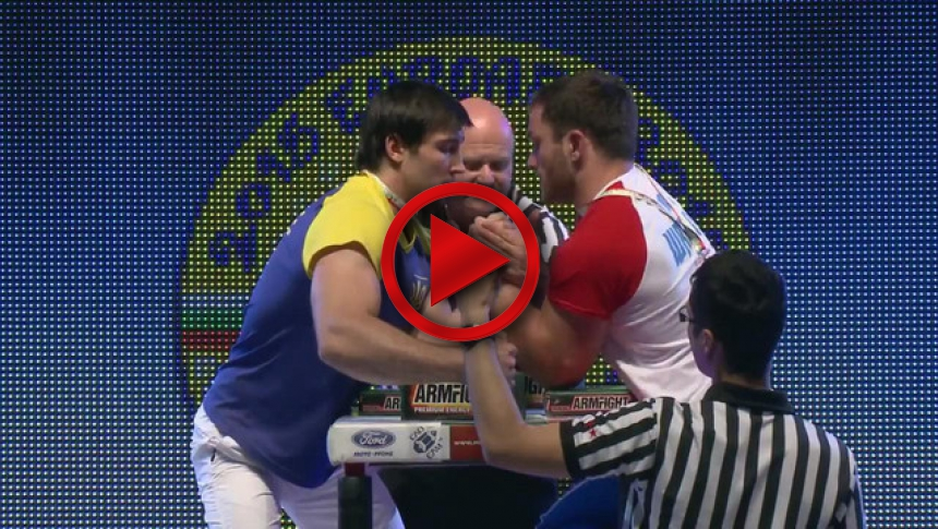 Senior 90kg left hand final - Eugeni Prudnik vs Spartak Zoloev # Armbets.tv # фкьиуеыюем