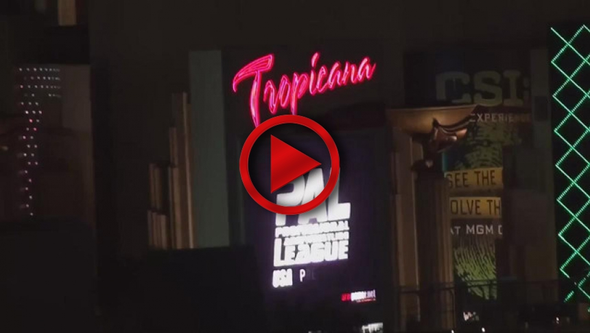PAL Advertisement at Tropicana # Armbets.tv # фкьиуеыюем