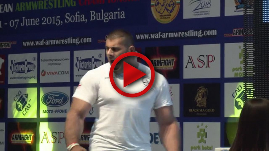 Senior  110kg left hand final - Levan Saginashvili vs Georgi Cvetkov # Armbets.tv # фкьиуеыюем