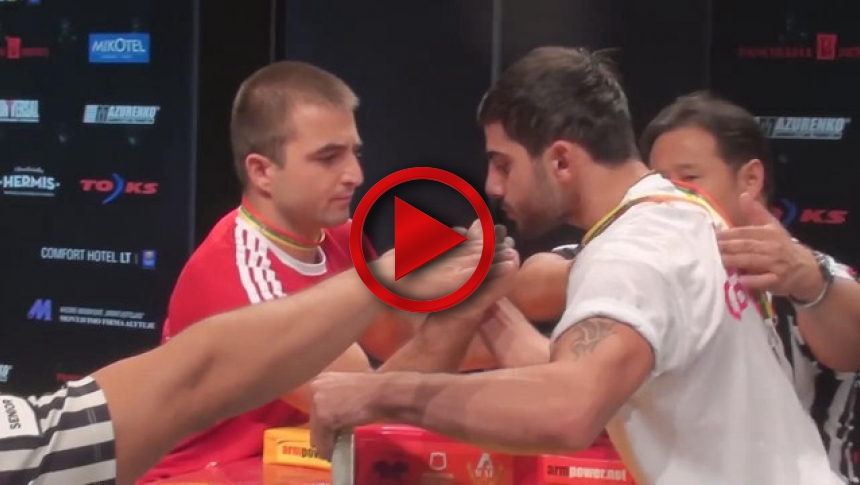 World Armwrestling Championship 2014, Day 2, eliminations (93) # Armbets.tv # фкьиуеыюем