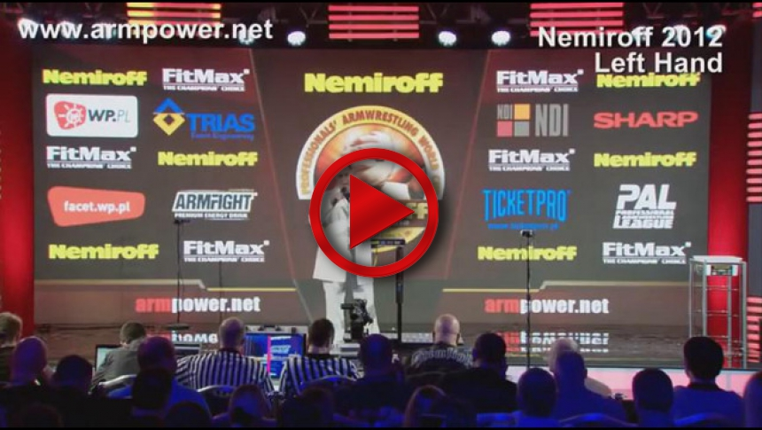 Nemiroff 2012 - semifinal left hand men 86kg # Armbets.tv # фкьиуеыюем