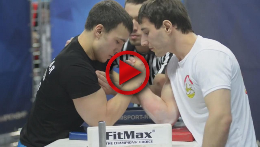 Russian Nationals 2014 right hand part 1 # Armbets.tv # фкьиуеыюем