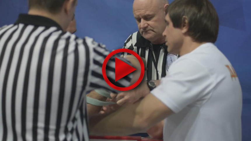 Russian Nationals 2014 right hand part 2 # Armbets.tv # фкьиуеыюем