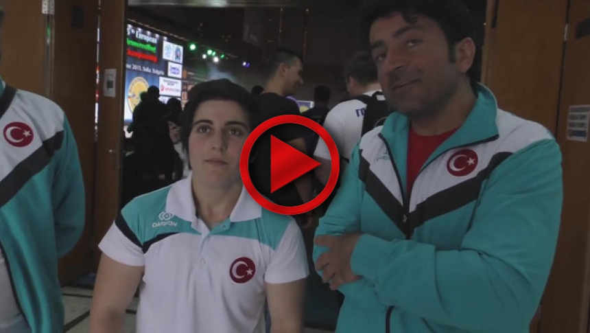 Turkish team on European Armwrestling Championship 2015 # Armbets.tv # фкьиуеыюем