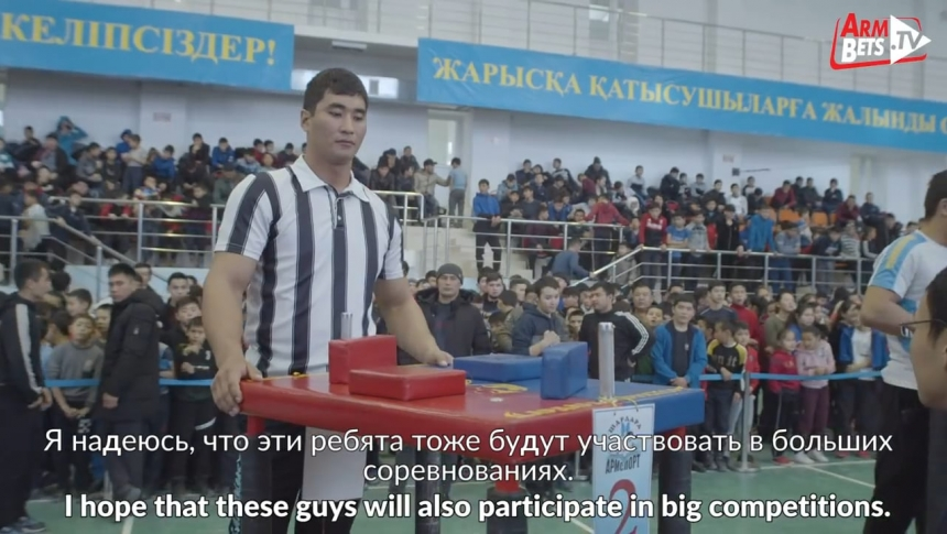 20 years to become a TOP armwrestler! Kydyrgali Ongarbayev # Armbets.tv # фкьиуеыюем
