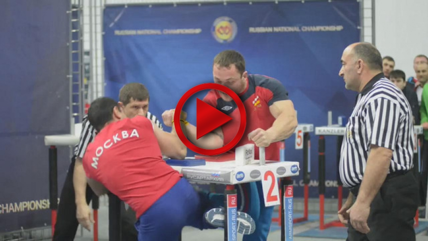 Russian Nationals 2014 right hand part 59 # Armbets.tv # фкьиуеыюем