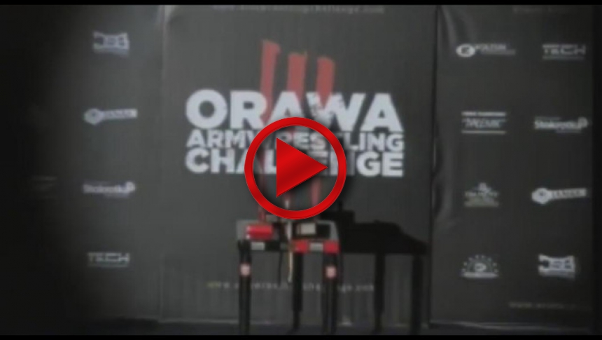 Orava Armwrestling Challenge # Armbets.tv