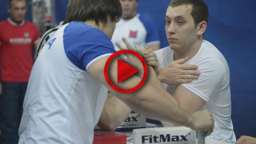 Russian National Championships 2014 armwrestling part 16 # Armbets.tv # фкьиуеыюем
