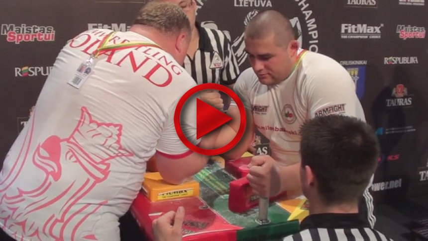 EuroArm 2013 Lithuania - day4 - part 35 # Armbets.tv # фкьиуеыюем