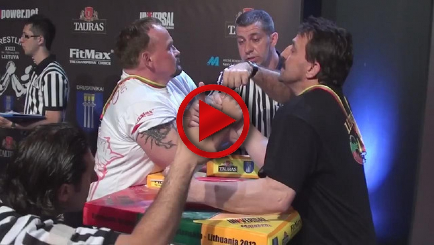 EuroArm 2013 Lithuania - day2 - part 59 # Armbets.tv # фкьиуеыюем
