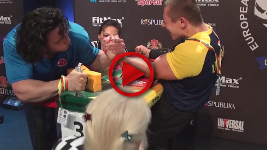 EuroArm 2013 Lithuania - day3 - part 19 # Armbets.tv # фкьиуеыюем