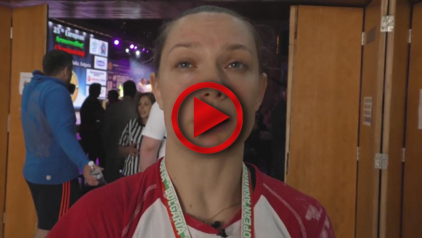 Lucia Debnarova from Slovakia on European Championship 2015 # Armbets.tv # фкьиуеыюем