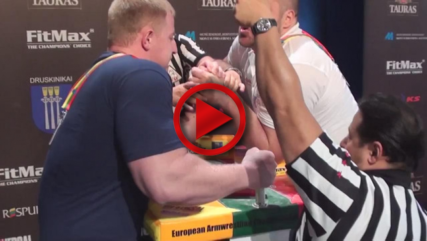 EuroArm 2013 Lithuania - day3 - part 35 # Armbets.tv # фкьиуеыюем