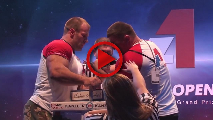 Tsyplenkov vs Pushkar - Final #1 Open class # Armbets.tv # фкьиуеыюем