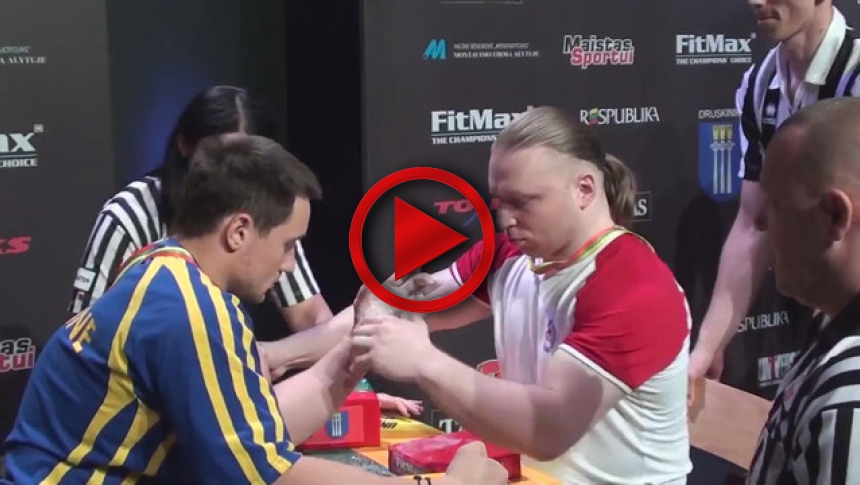EuroArm 2013 Lithuania - day1 - part 16 # Armbets.tv # фкьиуеыюем