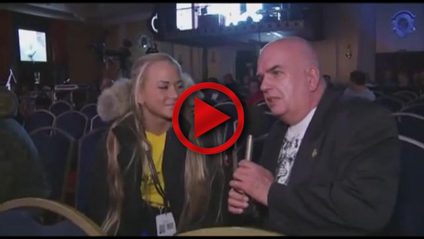 Nemiroff 2011 2nd Day Interviews Sara Backman # Armbets.tv # фкьиуеыюем