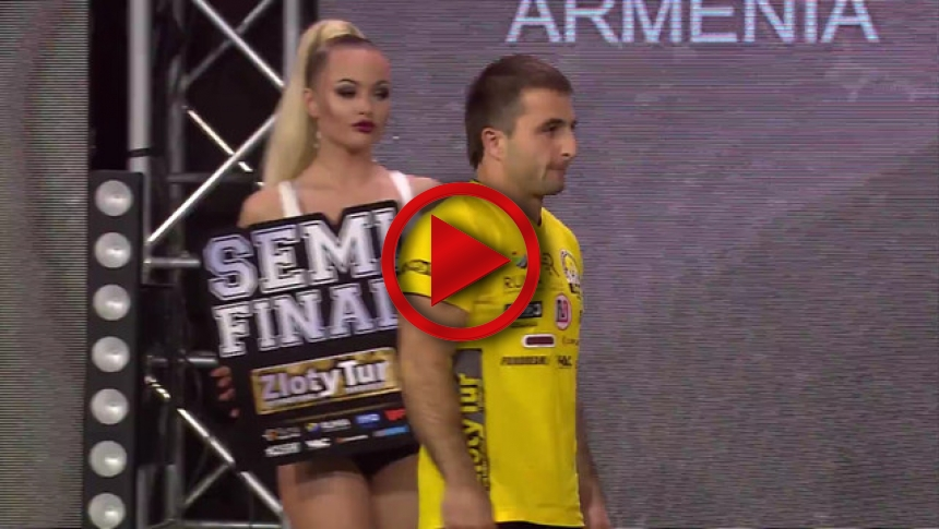ZlotyTur2017 - semifinals left hand # Armbets.tv # фкьиуеыюем