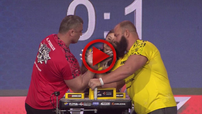 Armfight 48 - Todd vs Pushkar - Rumia Poland 2017 # Armbets.tv