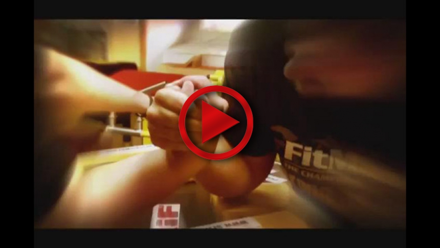 Training for Armwrestling - Andrey Pushkar before Armfight 40 # Armbets.tv # фкьиуеыюем