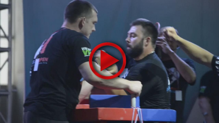 A1 Russian Open 2015 Left Hand part 2 # Armbets.tv # фкьиуеыюем
