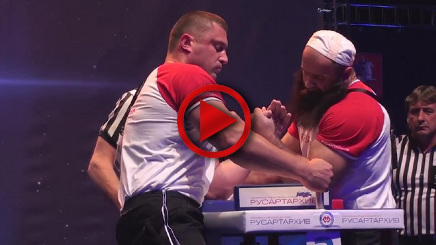 Pushkar Vs Zelimkhanov A1 Russian Open 2013 Left Hand # Armbets.tv # фкьиуеыюем
