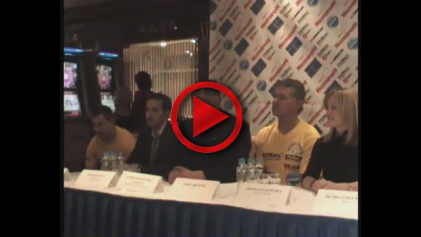 Nemiroff World Cup 2011 Press Conference # Armbets.tv # фкьиуеыюем
