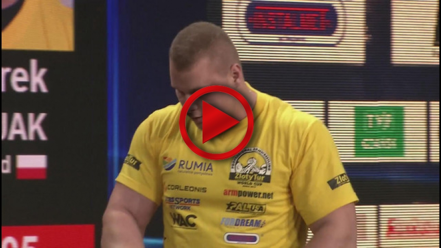 Zloty Tur 2015 - +95kg mens right hand - part 2 # Armbets.tv
