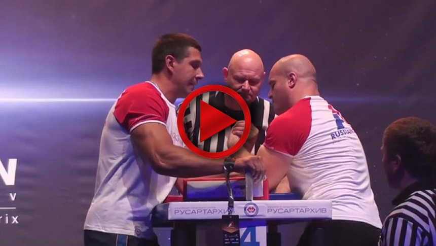 Ivakin Vs Khadaev A1 Russian Open 2013 Part01 Left Hand # Armbets.tv