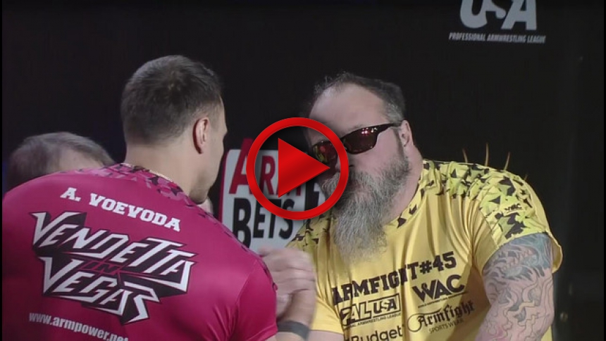 Armfight #45 - Voevoda vs Bresnan # Armbets.tv