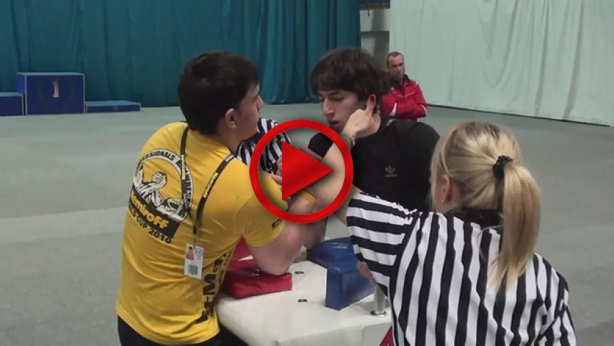 Russian Junior Armwrestling Championships 2012 - (61) # Armbets.tv