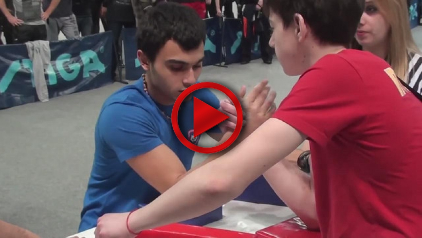 Russian Junior Armwrestling Championships 2012 - (60) # Armbets.tv # фкьиуеыюем