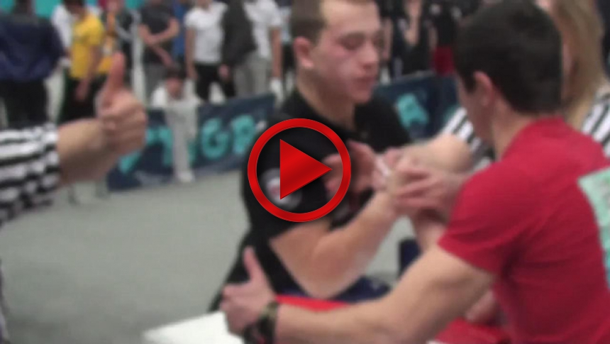Russian Junior Armwrestling Championships 2012 - (64) # Armbets.tv