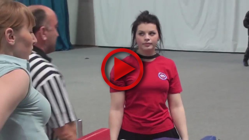 Russian Junior Armwrestling Championships 2012 - (75) # Armbets.tv