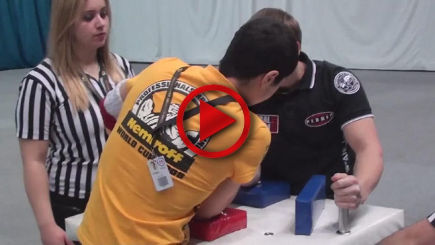 Russian Junior Armwrestling Championships 2012 - (81) # Armbets.tv