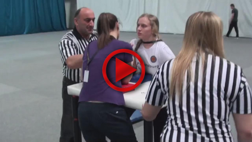 Russian Junior Armwrestling Championships 2012 - (80) # Armbets.tv