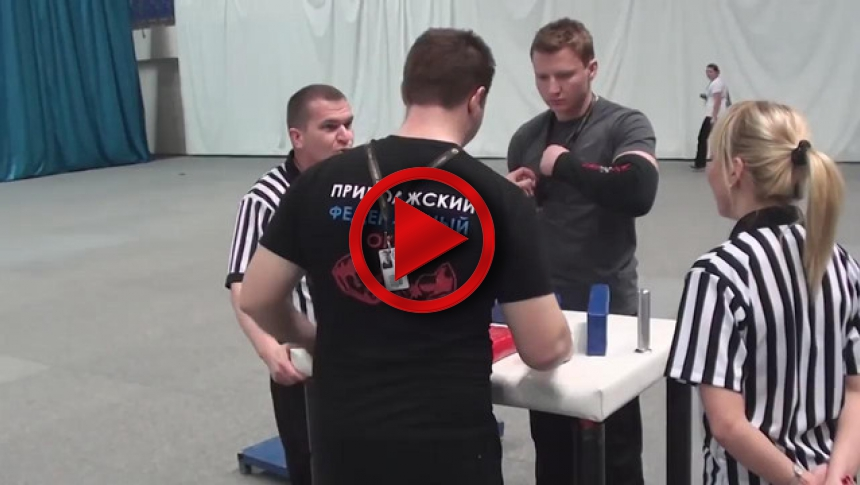 Russian Junior Armwrestling Championships 2012 - (82) # Armbets.tv