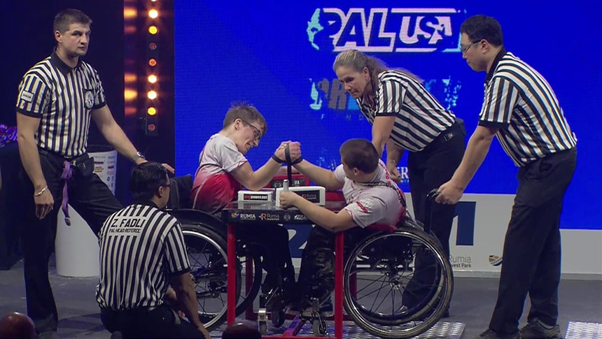 Disabled right hand  - IFA World Championship 2019 # Armbets.tv # фкьиуеыюем