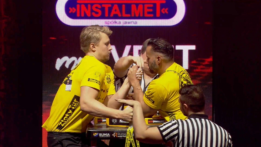 Carl Lindblom Vs Rik Kamana Left Hand Zloty tur Armwrestling World Cup 2019 # Armbets.tv # фкьиуеыюем