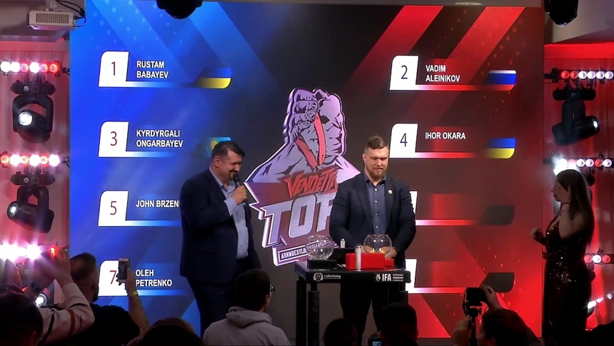 Drawing pairs for TOP8 2020: 95kg and +105kg # Armbets.tv # фкьиуеыюем