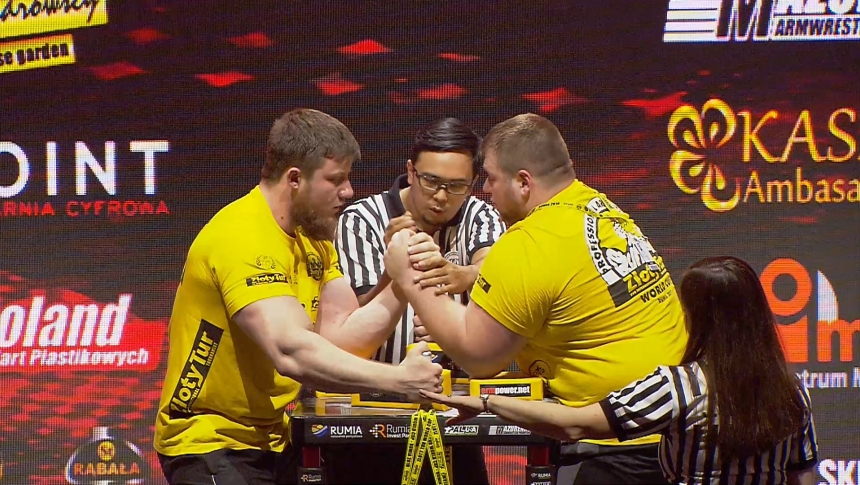 Sergey Evtyshenko vs Dimitry Silaev Left Hand Zloty tur Armwrestling World Cup 2019 # Armbets.tv # фкьиуеыюем