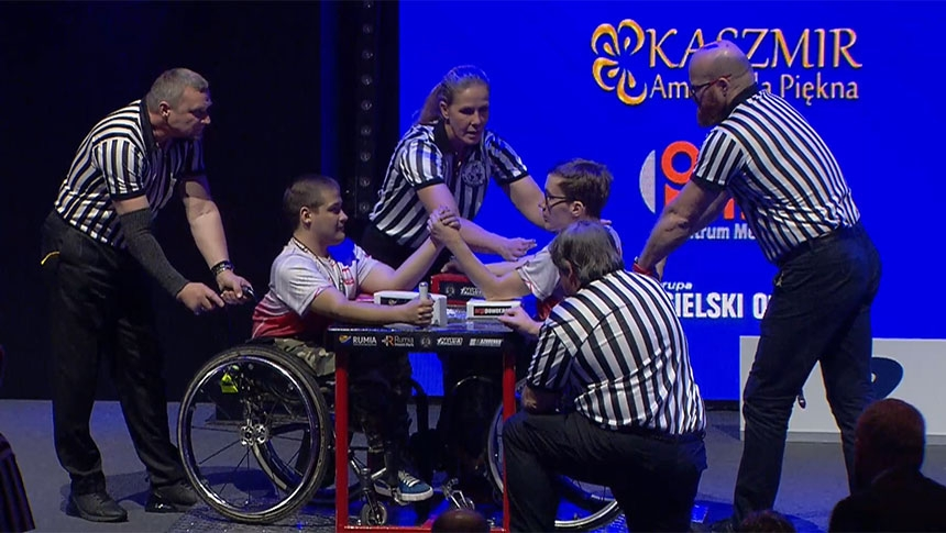 Disabled left hand  - IFA World Championship 2019 # Armbets.tv # фкьиуеыюем