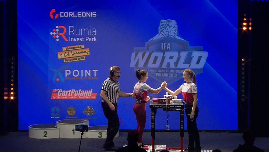 Junior finals left hand - IFA World Championship 2019 # Armbets.tv # фкьиуеыюем