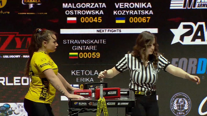 Zloty Tur 2019 - SENIOR WOMEN RIGHT 57 KG # Armbets.tv # фкьиуеыюем